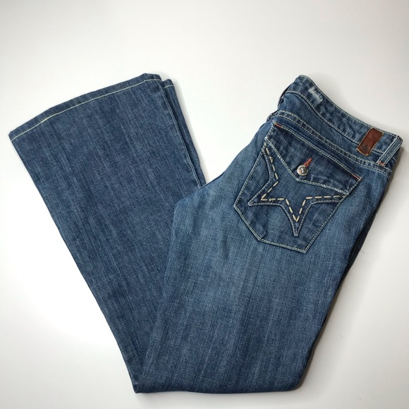 People's Liberation Janine Flare Jeans Size 28